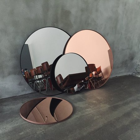 AYTM Large Circum Mirror - Rose Gold