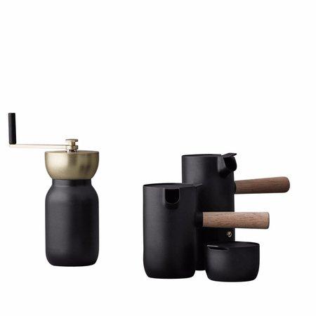 Stelton Collar Sugar Bowl - MATTE BLACK