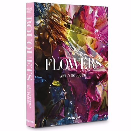 Assouline Flowers: Art & Bouquets HARDCOVER BOOK