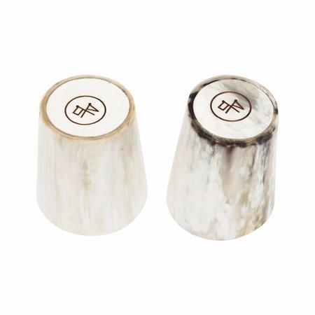 Rose & Fitzgerald Whisky Tumbler Set - WHITE
