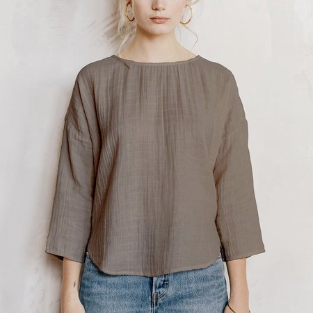 Voloshin Ella Top - Grey