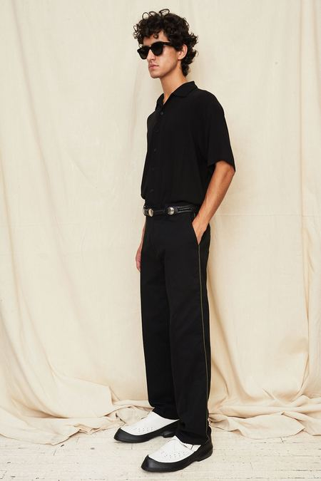 Assembly New York Straight Leg Pant - Black
