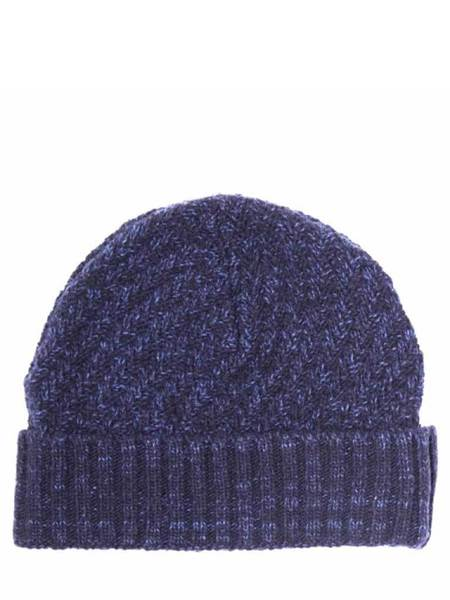 Oliver Spencer Arbury Hat - Hereford Navy/Blue