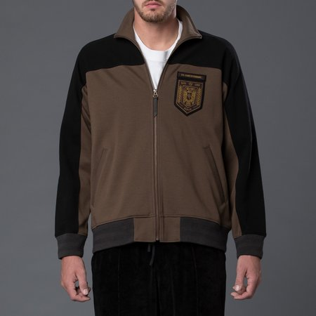 Robert Geller RG Track Jacket - Clay/Black