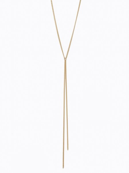 FashionABLE Saint Lariat - Gold