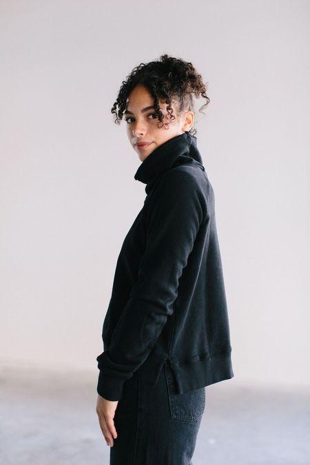 David Lerner Cowl Neck Pullover Sweatshirt