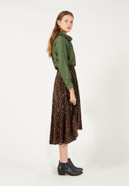 Masscob Charlotte Skirt - Leopard