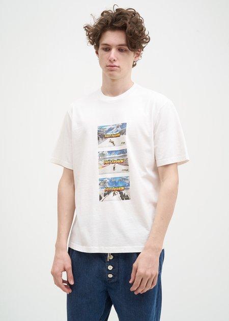 Sunnei Fast Fashion T-Shirt - White