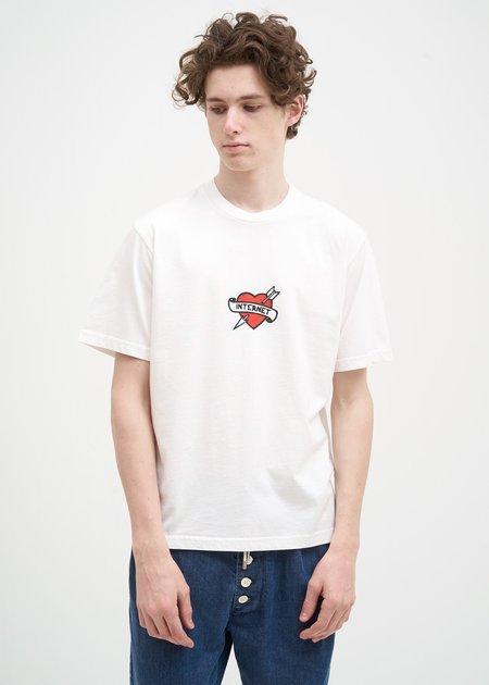 Sunnei Internet T-Shirt - White
