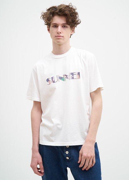 Sunnei Logo T-Shirt - White