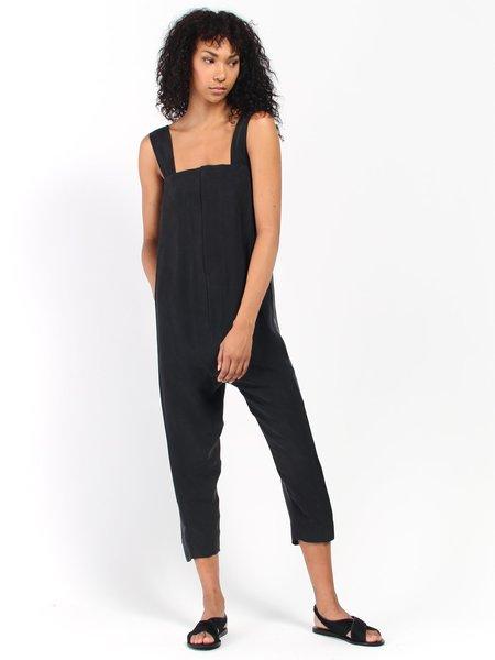 Unisex Beira Double Jumpsuit - Black