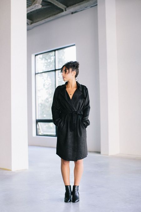 Line Michele Knit Coat