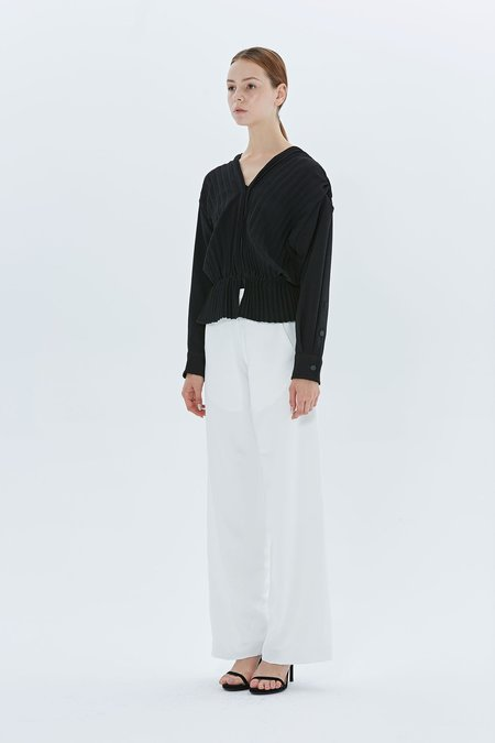 Christopher Esber Accordian Pleated Shirt