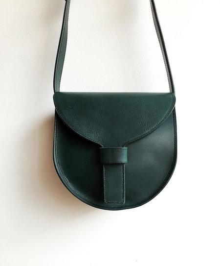 Sara Barner Italian Veg Tan Saddle Bag