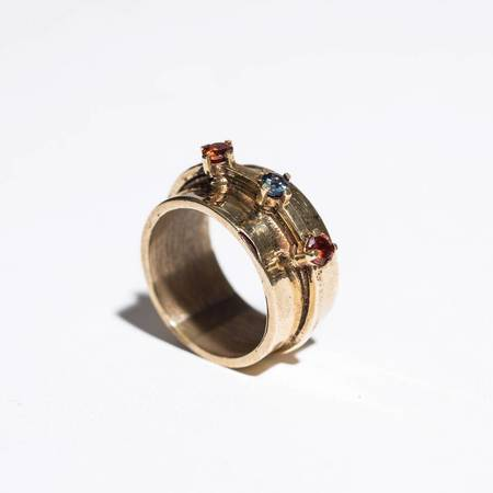 Aesa Passage Ring - BRONZE/3 Spinel