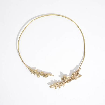 Saint Claude Lily of the Valley Open Collar
