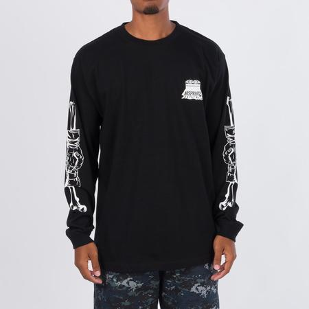 MEDICOM TOY x D*FACE Misprint Long Sleeve T-shirt - Black