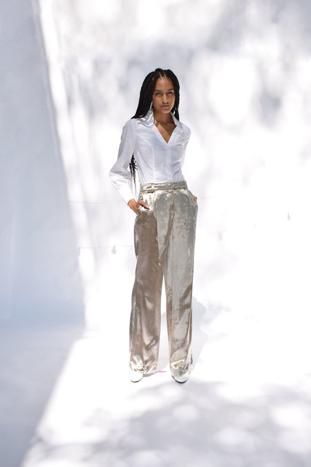 Of Her Own Kind Dylan Pant - Pewter