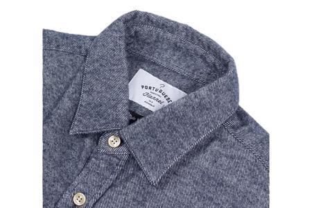 Portuguese Flannel Teca Shirt - Blue