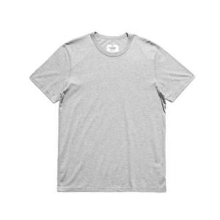 Reigning Champ Cotton Jersey S/S (2 Pack) - Heather Grey
