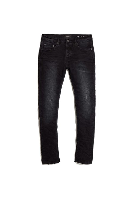 Purple Denim P001 - Black Wash