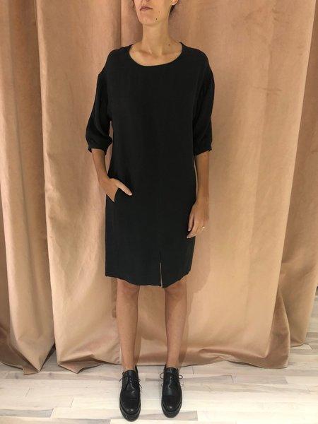 EVE GRAVEL HAZELWOOD DRESS - BLACK