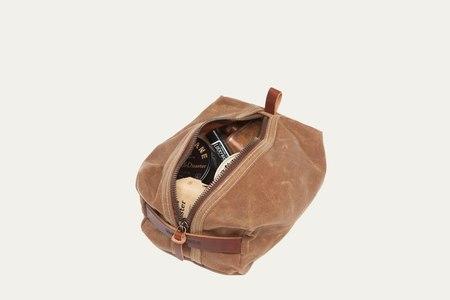 Bradley Mountain Dopp Kit - brush brown