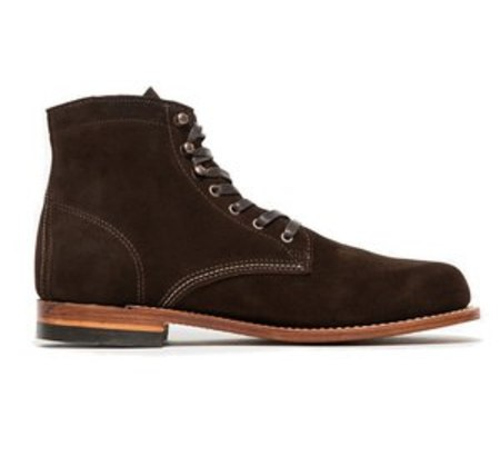 Wolverine 1000 Mile Boot - Brown Suede