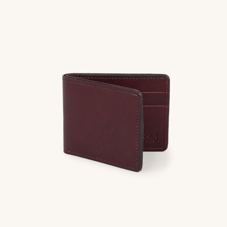 Tanner Goods Utility Bifold - Oxblood