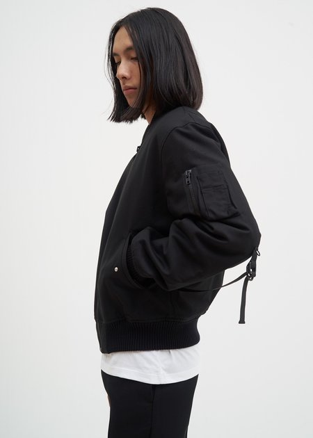 Helmut Lang Re-Edition Bondage Bomber Jacket - Black