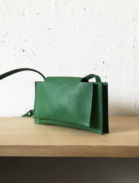 Sara Barner Mini Stack Italian Veg Tan Crossbody Bag