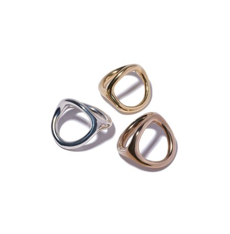 Jane D'Arensbourg Double Loop Ring