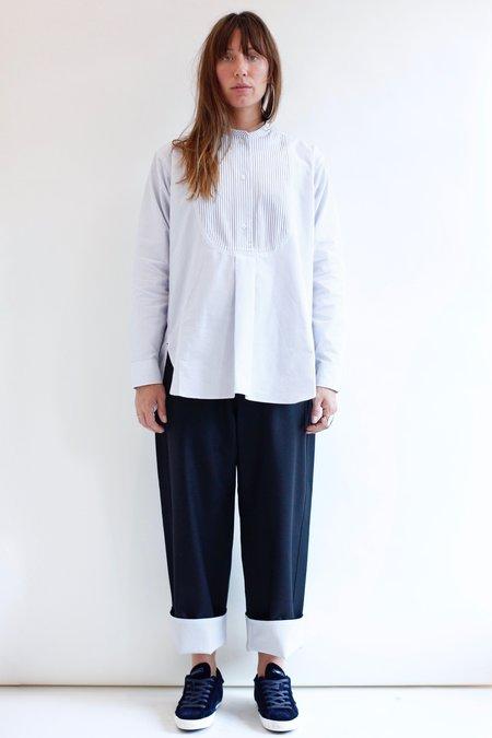 Sofie D'Hoore Boheme Shirt - Blue/White Stripe