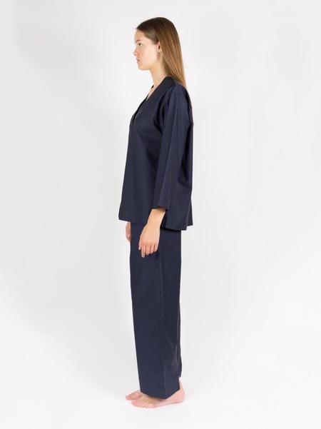 Kinda Sleepwear Mary Set - Late Night Blue
