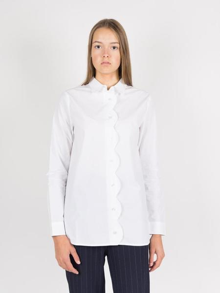 Ganni Olayan Shirt - Bright White