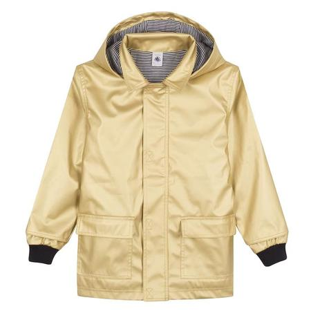 KIDS Petit Bateau Child Raincoat - Gold