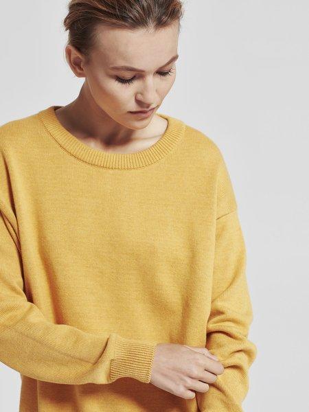 Juliette Hogan Luxe Slouch Knit - Marigold