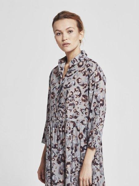 Juliette Hogan Suki Shirt Dress - Moon Leo Cotton