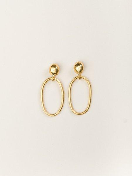 Uni Jewelry Joni Hoop Earrings