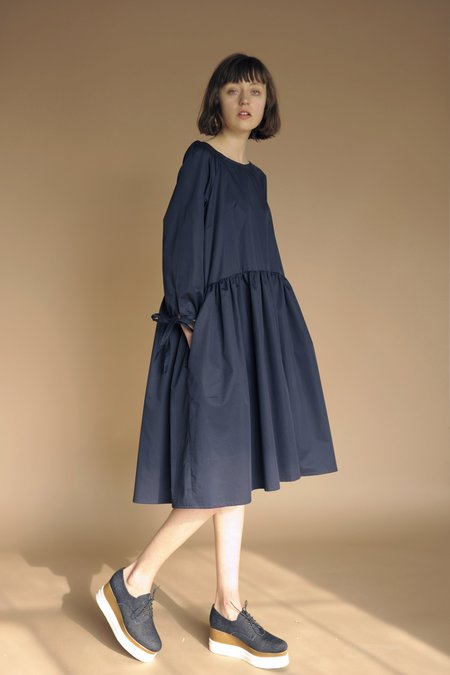 Eliza Faulkner Tallulah Dress - Navy