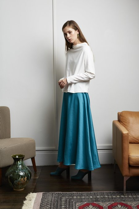 Mina Isik Skirt - TEAL