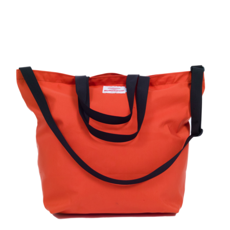 Unisex Battenwear Packable Tote Bag - Orange