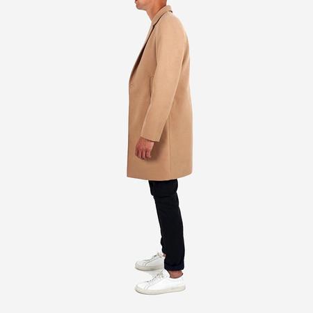 Men's Dangerfield Cashmere/Wool Overcoat - Camel