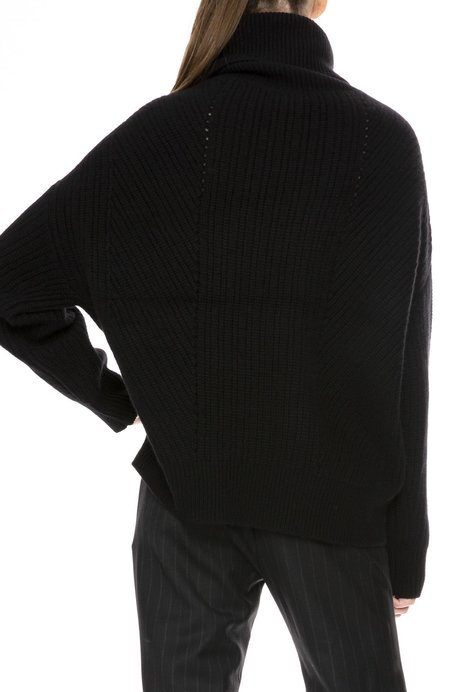 Nili Lotan Kiernan Turtleneck Sweater - Black