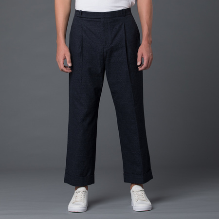 Carlos Campos Cropped Wide Leg Trouser