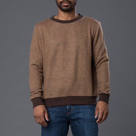 Thaddeus O'Neil Wool Marine Jumper - Brown