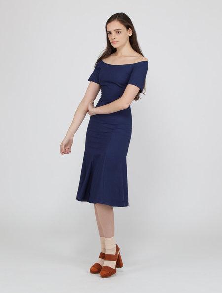 Creatures of Comfort Azule Dress - NAVY