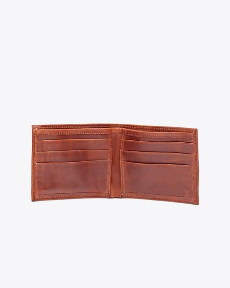 Nisolo Brewer Wallet - Brandy