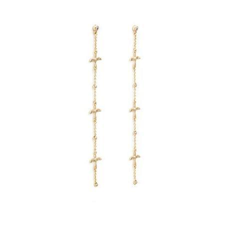 Melanie Auld Arlo Earrings - 14k GOLD