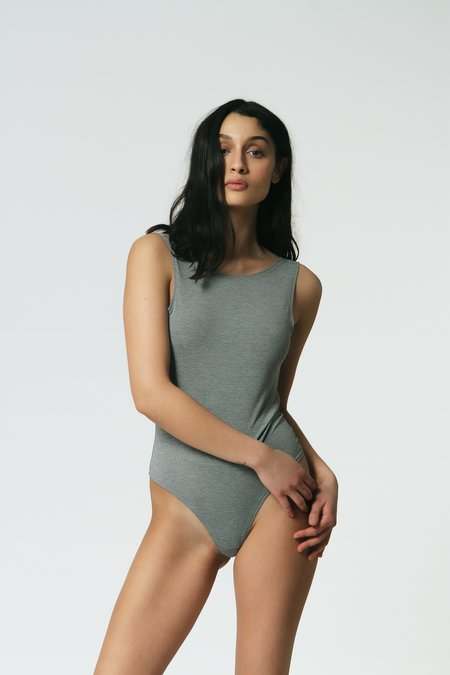 Mary Young Bodysuit - Grey